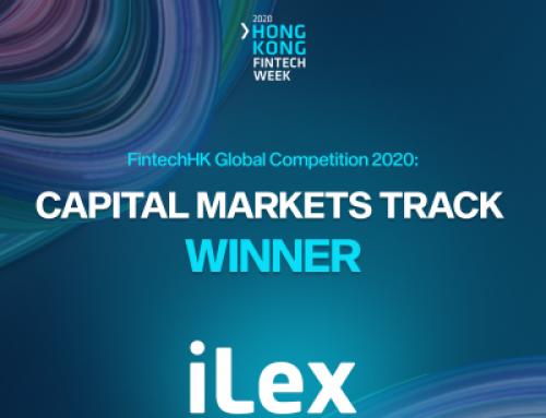 iLex winner of FintechHK Global Competition 2020 Capital Markets Track